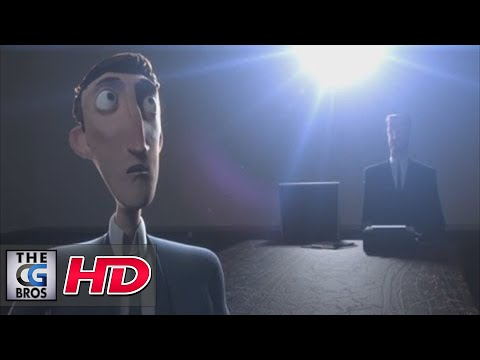 "CGI 3D Animated Shorts : ""Interview"" – by The Animation Workshop"
