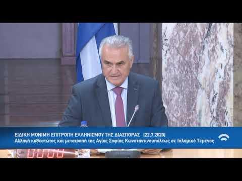 Την διεθνής αναγνώριση της Γενοκτονίας των Ελλήνων της Ανατολής ζητά η Ειδική Μόνιμη Επιτροπή Απόδημου Ελληνισμού της Βουλής (βίντεο)