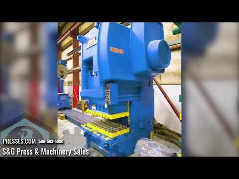 200 Ton NIAGARA SG2-200-60-30 Double Crank Gap Press