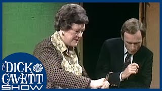 Julia Child Scares Dick With A Blowtorch | The Dick Cavett Show
