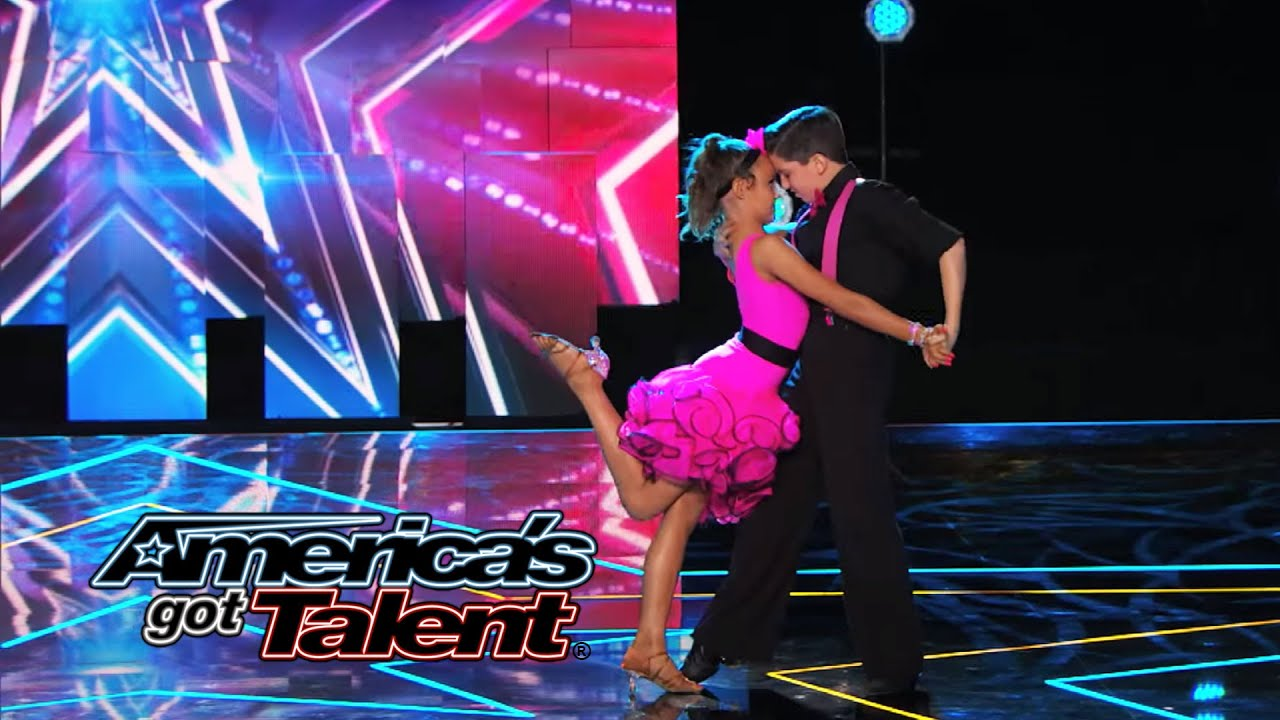 """Carter & Anika: Young Partners Dance to """"Let's Get Loud"""" - America's Got Talent 2014 thumbnail"""