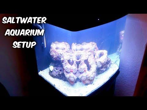 Setting Up Saltwater Aquarium - Part 2