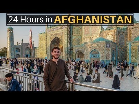 My First 24 Hours in AFGHANISTAN