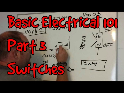 BASIC ELECTRICAL 101 #03 ~ SWITCHES
