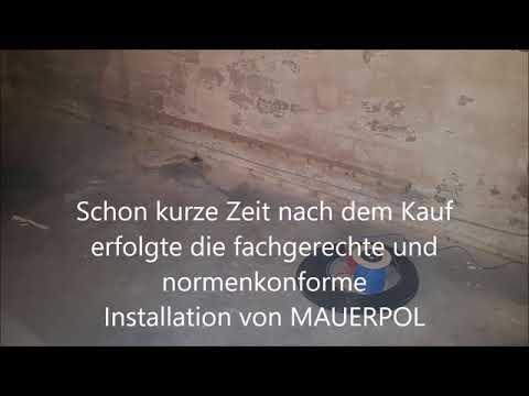 MAUERPOL - Im Einsatz gegen feuchte Wände in Lübeck