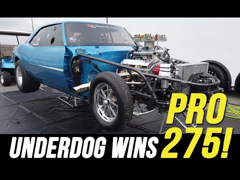 Small Block Nitrous Camaro at No Mercy 10!