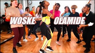 Olamide - Woske (Official Dance class video by Fumy)