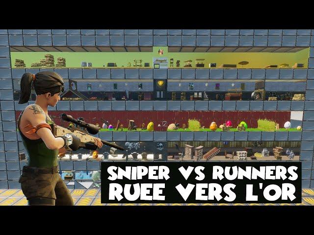 SNIPER VS RUNNERS - RUÉE VERS L'OR