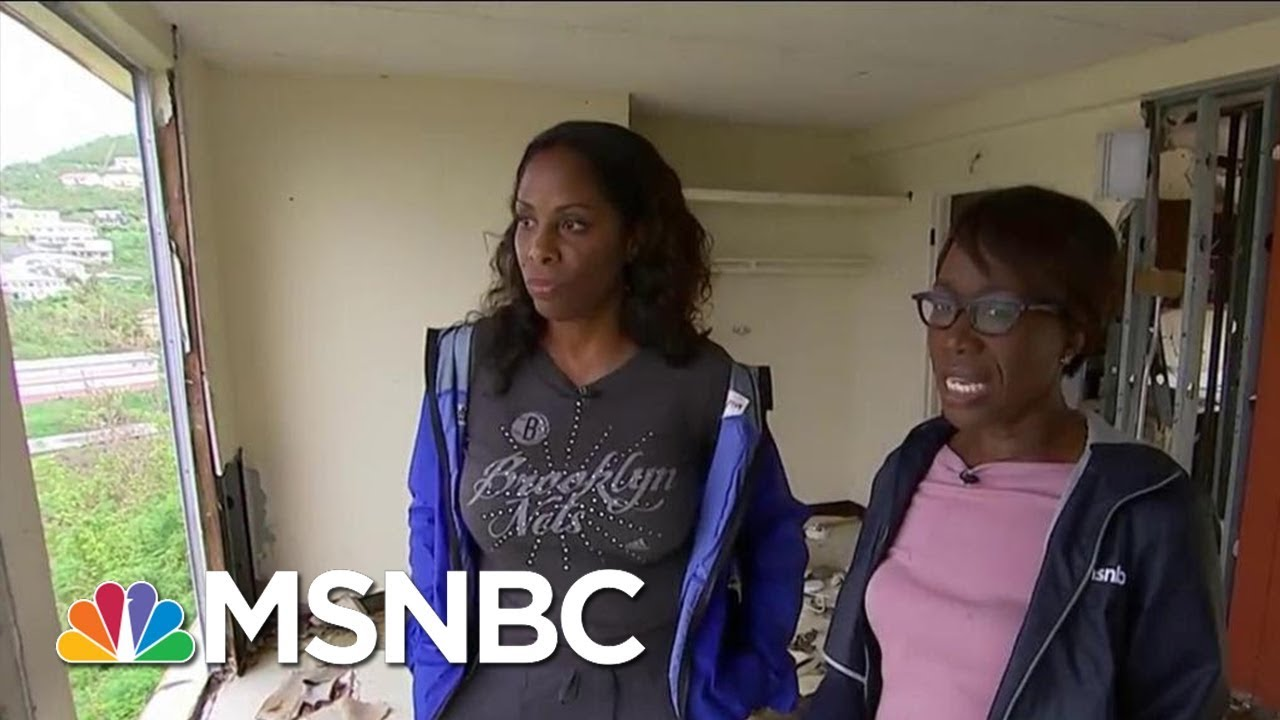 Puerto Rico And U.S. Virgin Islands Struggle To Recover And Feeling Forgotten   AM Joy   MSNBC thumbnail