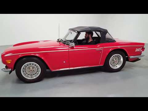 Video of '73 TR6 located in Mooresville North Carolina Offered by Shelton Classics & Performance - QGZ7