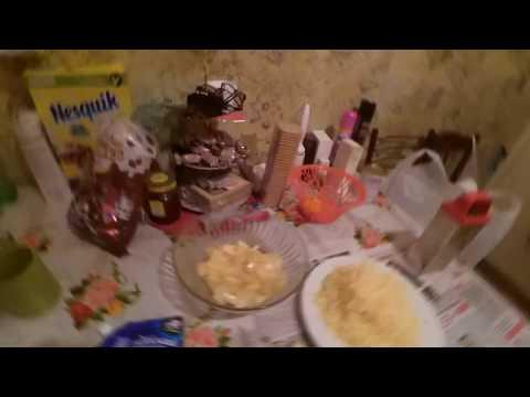 Салат - ШЕДЕВР! ананас сыр чеснок майонез! Закусь, вкусный рецепт! Часть 77