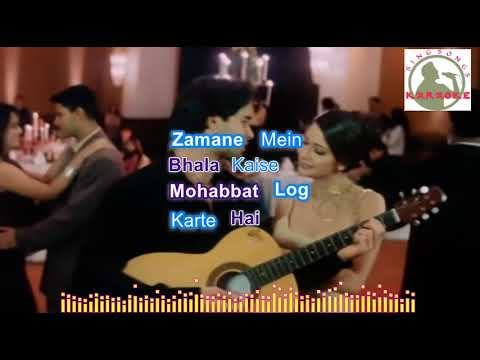 Download Aankh Hai Bhari Bhari Aur Tum Karaoke With Lyrics Video 3GP