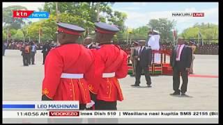 Rais Uhuru ahudhuria hafla ya maafisa wa Cadet kufuzi, Nakuru