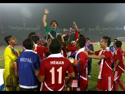 Nepal Vs Laos  3 -0 Semi Final [Extended Highlights ] [ Penalty Shootout]2016 Must Watch!!!!!!!