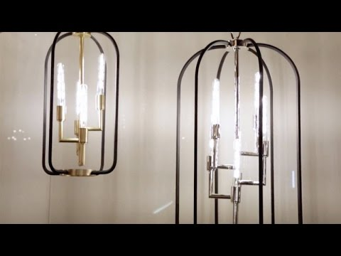 Video for Angler Polished Nickel Three-Light Wall Sconce