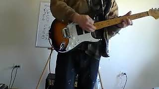 All My Life Echo and the Bunnymen Guitar Cover Lesson Johnny Veee