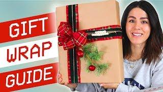 Gift Wrapping Tutorial (DIY HACKS)