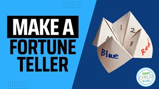 How to Make a Paper Fortune Teller