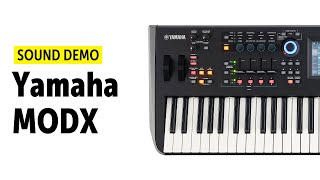 Yamaha MODX Sound Demo (no talking)