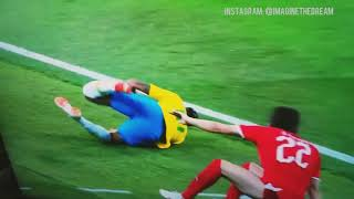 Falling Neymar | Fifa World Cup 2018 | Best Ever Dive