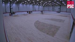 Lubbock-Cooper High School Gymnasium Time Lapse