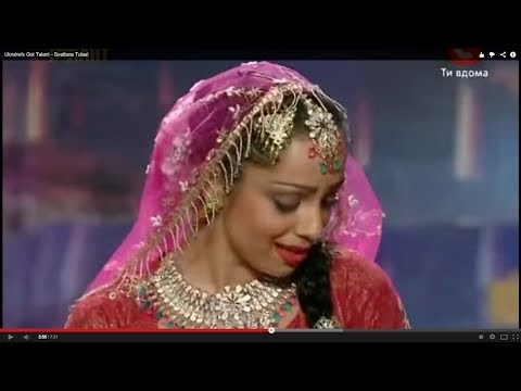 Ukraine&#39s Got Talent - Bollywood Mujra (Kathak dance) by Svetlana Tulasi