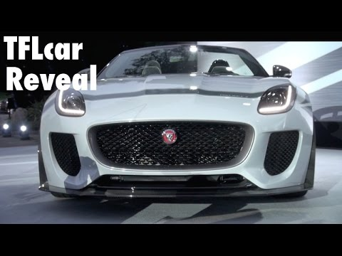 Watch the 2015 Limited Edition Jaguar F-Type Project 7 Debut: Collectible or Not?