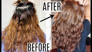 HAIR TRANSFORMATION: From Brassy To Brown  | Yulissa  Guerra