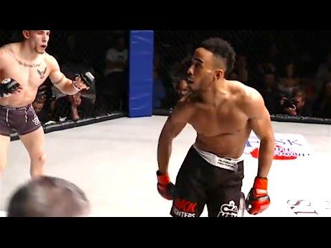 Hombre de Ozzy en MMA exhibicionismo va horriblemente mal