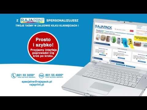Rajaprint - NOWE narzędzie do personalizacji taśm online - zdjęcie