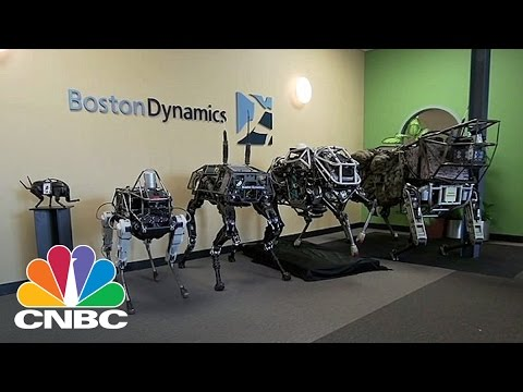 Boston Dynamics Introduces SpotMini | CNBC