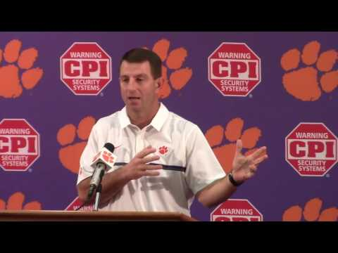 TigerNet.com - Dabo Swinney previews ACCCG part one