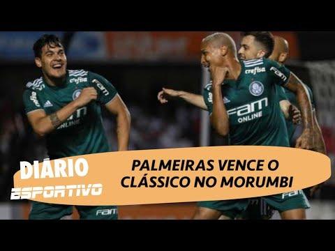 Diário Esportivo analisa a vitória do Palmeiras no clássico contra o São Paulo