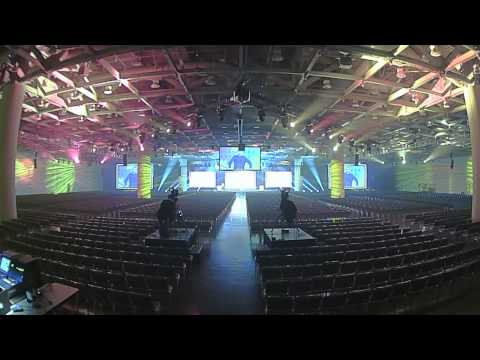 2015 Game Developers Conference 360 Time-lapse