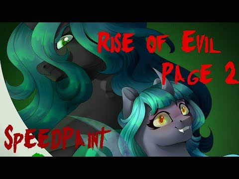 SpeedPaint Comic: Rise of Evil - Page 2 [MLP Next Gen]