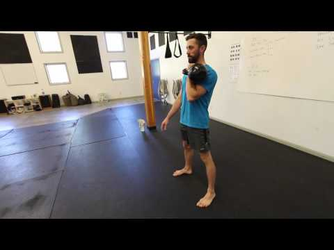 Single Arm Kettlebell Clean