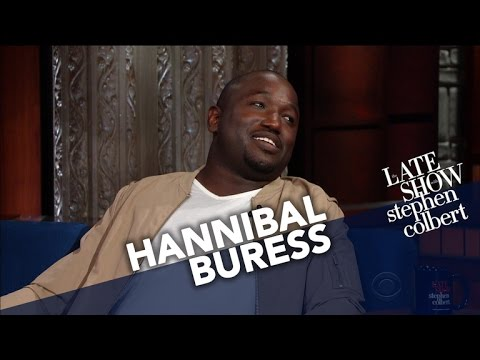 Hannibal Buress Enters Stephen's Splash Zone