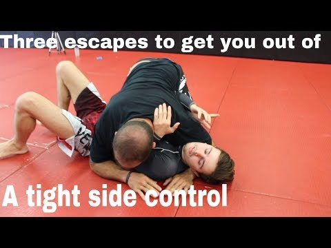 3 super magical side control escapes