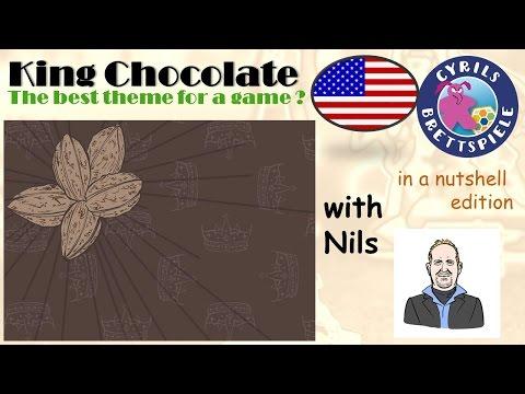 Cyrils Brettspiele - King Chocolate - in a nutshell (N37) - I LOVE choco