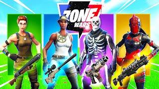 The *RANDOM* SKIN CHALLENGE in Fortnite Zone Wars