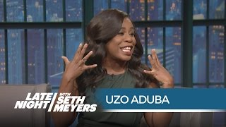 Uzo Aduba: Proud Member of Taylor Swift's Squad - Late Night with Seth Meyers