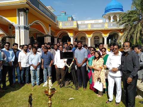 Vishal's New Movie Opening Event