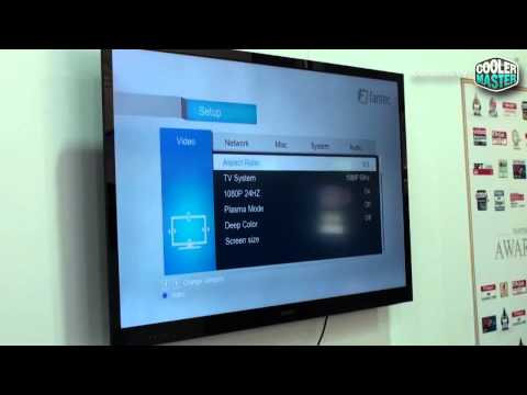 CeBIT 2012: Fantec-Mediaplayer mit 3D-Full-HD vorgeführt