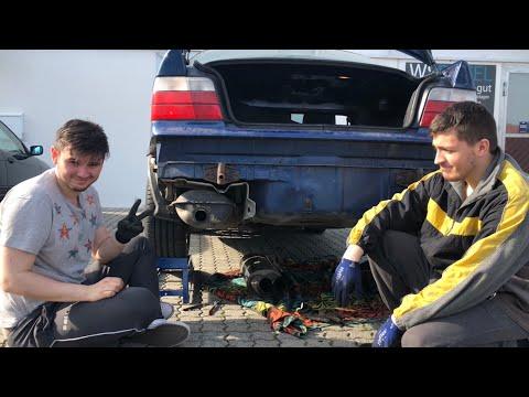 Bmw E36 Bastuck Sportauspuff Einbau + Hörprobe! | E36 Life