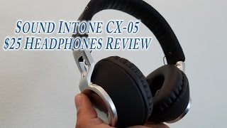 Great Wired Headphones for $25 Sound Intone CX-05