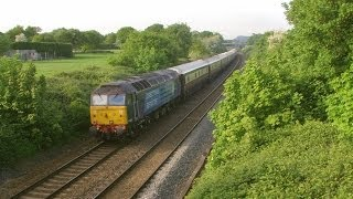 preview picture of video 'Half an Hour at (34) Guilden Sutton | Chester 15.5.2014 Class 47 56 142 175 221'