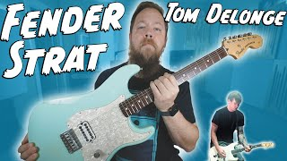 2001 Fender Tom Delonge Signature Strat!