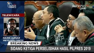 Haris Azhar Tolak Jadi Saksi Prabowo di Sidang MK