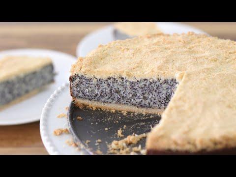 German Poppy Seed Cake Recipe – Mohnkuchen
