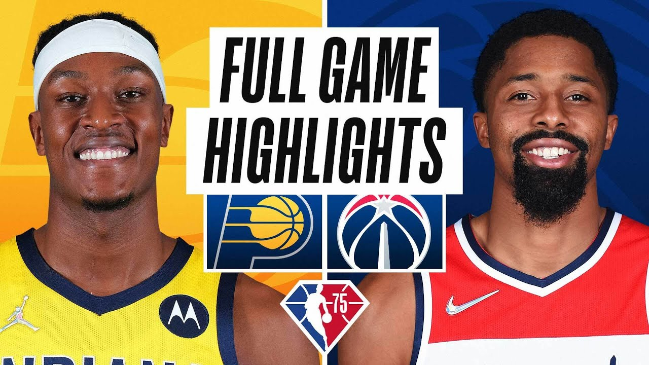 PACERS at WIZARDS | FULL GAME HIGHLIGHTS | October 22, 2021